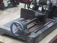 (X2) 110V INDUSTRIAL SAW ( EVOSAW-355 ) SUITABLE FOR WORKSHOP OR GARAGE.