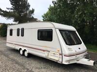 4 Berth Twin Axle Sterling Eccles Caravan - Fixed Bed - Shower - Cassette Toilet