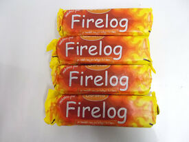 4x Gardeco Firelogs Smokeless Fuel