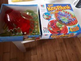 MB GAMES KERPLUNK GAME ALL COMPLETE IN BOX