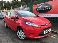 2010 Ford Fiesta Edge 1.2 Petrol 5 door 5 Speed Manual Low Miles