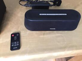 Toshiba mini 3D sound bar with subwoofer