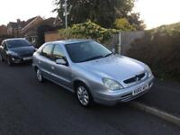 2002 Citroen Xsara 1.4 Sliver 5 door hatchback cheap ideal family car