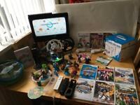 Wii Consol 13 Games Skylanders/Sports Pack