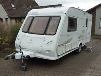 Touring Caravan for Sale Elddis Odyssey 482 2 berth 2005 end washroom