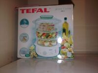 Tefal steamer old but never been used still in the wrapping !