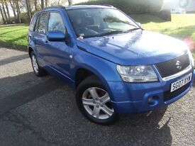 ONLY 36K MILES ! 2007 07 SUZUKI GRAND VITARA 2.0 16V 5d 139 BHP * GUARANTEED FINANCE * PART EX WEL