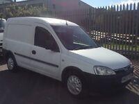 2003 Vauxhall combo 1.7 tdi van £625 drives excellent 5 doors