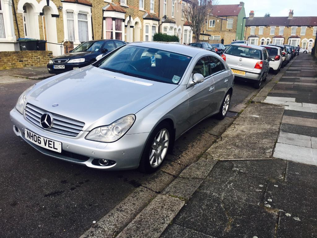 Mercedes cls 2006 320cdi diesel auto satnav tv low mileage full service  history cls320 px Welcome