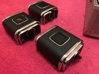 Hasselblad A12 film backs