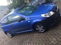Chevrolet aveo 09 with very low mileage and extras