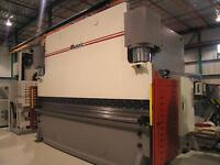 14' x 500 ton Masteel Press brake CNC ***GROS SPECIAL***