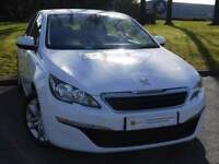£0 DEPOSIT FINANCE (14) Peugeot 308 1.6 e-HDi Active (s/s) 5dr **FREE ROAD TAX**SAT NAV**CRUISE CONT
