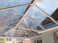 Solar coating for conservatory roofs