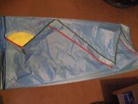 sailing boat spinnaker unused