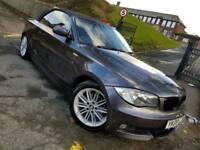 BMW 1 SERIES 118i MSPORT CONVERTIBLE 2008 **FSH/ LOW MILEAGE / MOT / NOT 118D 120D