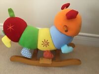 Mamas & Papas Charlie Caterpillar Rocking Animal young child ride on