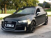 AUDI RS3 2016 65 PLATE FULLY LOADED
