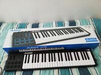 Alesis V49 49-Key USB MIDI Keyboard Controller with 8 Backlit Pads