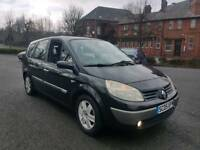 **2005 RENAULT G-SCENIC 7 SEATER 1.6 DYN LONG MOT 2 OWNERS TOP SPEC DRIVES GOOD**