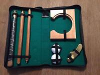 Executive putting set office toy