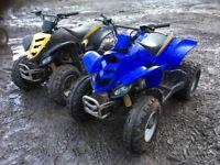 Eton viper 150cc bike (X 2)