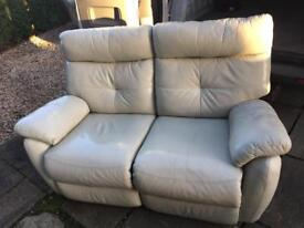 Armchair and two seater sofa