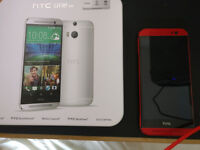 HTC One M8 Red (Boxed, unlocked)