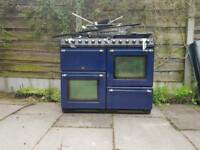 Belling double oven arger