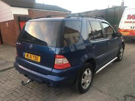 MERCEDES ML 2.7 CDI AUTOMATIC 7 SEATER 12 MONTHS MOT