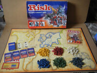 (RISK), World Conquest board Game (Golden Cavalry piece edition). By Parker games 2004. Complete.