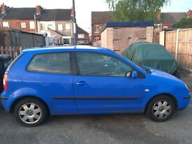 Volkswagen polo for sale or spares or repairs