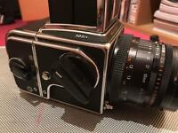 Hasselblad 503cx complete with 80mm lens, film back & viewfinder