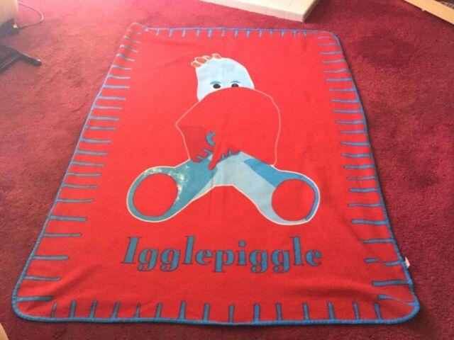 Iggle Piggle Fleece Blanket Throw In