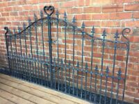Top Quality Fully Galvanised Sheperds Crook Driveway Gates- delivery or collection