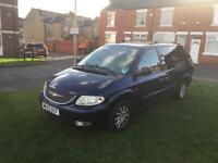 2004 Chrysler grand voyager 2.5 crd 99k mot 2 months , very spacious 7 seater