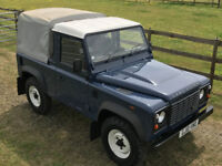 Land Rover Defender 90 Pick Up 2010 (LOW MILEAGE)