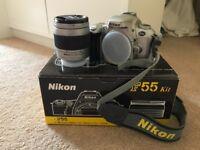 Nikon F55 Kit film camera