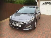 2014 Hyundai i30 1.6crdi diesel 5 door estate ONLY 20 POUNDS TAX not focus ceed golf Astra Leon