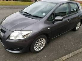 2007 Grey Toyota Auris 1.6 TR VVT-i Pet 5 Door Hatchback Petrol BHP122