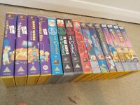 Collection of The Simpsons VHS Compilations