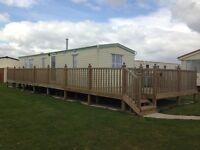 Six Berth Caravan to rent at Chapel St Leonards