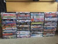 100 dvds job lot bundle