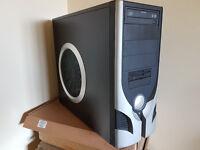 Gaming PC, Intel Dual Core 3.4Ghz, Win 10, 1000GB, 4GB, Radeon HD4500 HDMI , Office