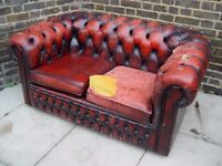 FREE DLEIVERY Chesterfield Two Seater Sofa Couch Furniture 11