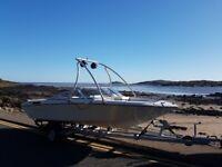 Four Winns Horizon 180 Bow Rider Speed Boat 4.3 Volvo Penta with Alpha One Gen 2 leg