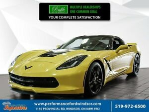 2017 Chevrolet Corvette Stingray ***Z51, 7 speed manual***