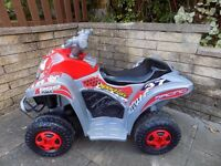 Ride On Quad 6V Battery Powered Ride On Quad Excellent Condition Fully Working Hardly Used