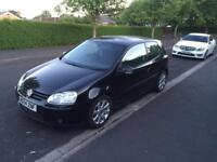 VW golf mk5 2.0 tdi 140bhp black