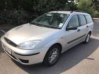 FORD FOCUS ESTATE 1.6•12 MONTHS MOT•CHEAP CAR•NOT FORD MONDEO RENAULT LAGUNA VAUXHALL ASTRA